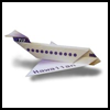 Folded   Paper Airliner Craft