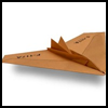 Nighthawk   Paper Airplane Craft