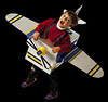 Airplane   (with pattern) for Parents to Make for Halloween Costume