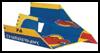 FA   Thunderhawk Paper Airplane for Girls and Boys
