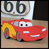 Lightning   McQueen Car Air Freshener