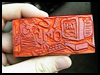 Eraser Carving Crafts Instructions