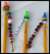 Personalized    Pencil Toppers Craft for Kids