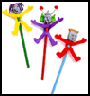 Pencil    Pals Arts & Crafts Activity