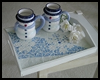 Snowflake   Mosaic Serving Tray