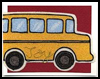 Back   to School Card: Beady Bus