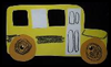 School   Bus Frames Craft for Youngsters