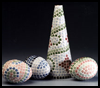 Tiled   Topiary Eggs and Tree