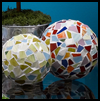 Mosaic   Spheres Glass