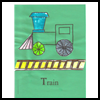 All   Aboard for these Preschool Train Crafts!