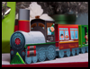 Christmas   Train Paper Craft