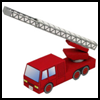 Fire   Engine Paper Crafts Ideas