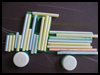 Drinking   Straws Trucks to Make for Preschoolers & Toddlers