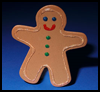 Catch   the Gingerbread Magnet to Make