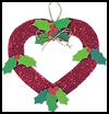 Christmas   Heart Decoration Making Instructions