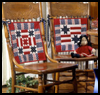 Americana   Chair-Back Cushion Memorial Day Craft