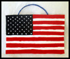 American   Flag Wall Hanging Activity for Kids