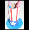 Patriotic   Pen Pot Craft
