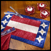 Stars-and-Stripes   Place Mats