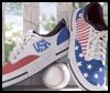 Stars   and Stripes Tennis Shoes