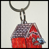 How   to Make Birdhouse Keychains