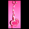 Heart   Plaque Key Ring