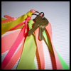 How   to Make Ribbon Key Chains