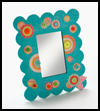 A   Mirror Re-do For a Fashionable Diva Kids Craft