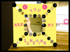 Button Decorated Mirrors Craft Project for Kids