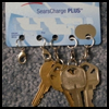 <B>How   to Recycle Your Old Credit Cards Into an Organizer for Duplicate Keys</B>