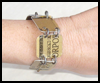 <B>How   to Make a Credit-Card Bracelet</B>