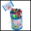 <B>Pencil   Cup with a Gift Card Kids Craft</B>