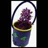 Play   Doh container flower basket