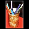 Dad's   Faux Leather Pencil Holder