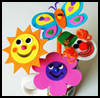 Craft   Foam Pencil Toppers Craft for Preschoolers and Toddlers