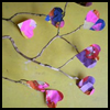 Colorful   Heart Boughs Arts & Crafts Project