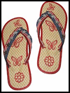 <strong>Recycled   Patriotic</strong> <strong>Flip     Flops</strong>