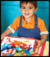 Prints Paper Imprints   Charming Craft for Preschoolers and Toddlers