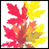How   Children Can Make Paper Imprinted Stamps With Fall Leaves