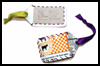 Yogurt   Tub Luggage Tags