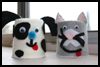 Yogurt   Cup Felt Animals