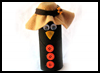 Cardboard   Tube Crow Craft for Youngsters