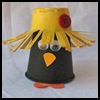 Paper   Cup Crow Craft