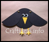 Paper   Crow With Movable Wings