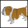 Bulldogs Paper Crafts Activities