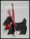 Scottie   Christmas Tree Ornament