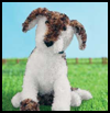 Adorable   Knit Puppy Dogs Craft for Kids