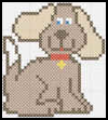Dog   Themed Cross Stitch Pattern