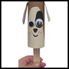 TP   Puppy Puppet Craft