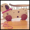 How   to Make a Wooden Dog Pull Toy